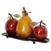 Three Posts Dresden Fruit Sculpture