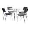 All Home Colorad Dining Set with 4 Chairs