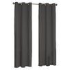 Charlton Home Bexley Solid Blackout Thermal Grommet Single Curtain Panel