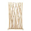 "Woodland Imports 80"" x 40"" Branch Screen Room Divider"