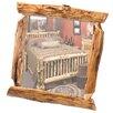 Fireside Lodge Traditional Cedar Log Wall Mirror