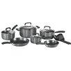 T-fal Signature Hard Anodized 12 Piece Cookware Set