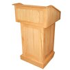 AmpliVox Sound Systems Victoria Solid Wood Lectern