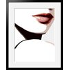 Atelier Contemporain Visage Du Monde 06 by Vidal Framed Graphic Art