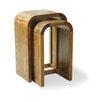 Homestead Living Filiasi 2 Piece Nest of Tables