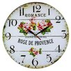 Obique 34cm Rose de Provence Wall Clock