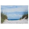Beachcrest Home Ocean Path Photo Graphic Print on Canvas