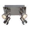 Brilliant Kassandra 4 Light Semi Flush Ceiling Light