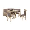 Furntastic Eckbankgruppe Rumba mit 2 Stühlen