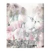 Oliver Gal Romance Lace and Roses by Runway Avenue Graphic Art Wrapped on Canvas
