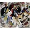 Magnolia Box Painting with White Form, 1913 by Wassily Kandinsky Art Print on Canvas