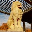 OrlandiStatuary Garden Décor Lion Guard Statue