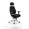 Home & Haus Asbjerg High-Back Executive Chair with Adjustable Arm