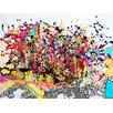 Magnolia Box Explosion, 2009 by Myrtia Hellner Graphic Art on Canvas