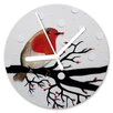 I-like-Paper Rotkehlchen 13cm Analogue Wall Clock