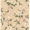 """Brewster Home Fashions Kitchen, Bed And Bath Resource IV Lilith 33' x 20.5"""" Floral Wallpaper"""