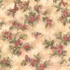 """Brewster Home Fashions For Your Bath II Lisa 33' x 20.5"""" Butterfly Floral Wallpaper"""