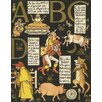 Magnolia Box The Absurd Abc by Walter Crane Framed Vintage Advertisement
