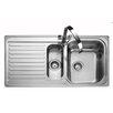 Rangemaster Sink & Taps Sedona 98.5cm x 50.8cm Kitchen Sink