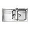 Rangemaster Sink & Taps Glendale 95cm x 50.8cm Kitchen Sink