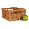 CandiGifts Superior Square Storage Wicker Basket