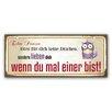 Cuadros Lifestyle Echte Prinzen Typography Plaque