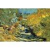 Buyenlarge 'Saint-Remy' by Vincent Van Gogh Painting Print