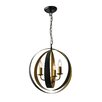 Endon Lighting Toro 3 Light Globe Pendant