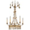 Flambeau Bon Vivant 5 Light Candle Chandelier