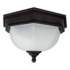 Garden Zone Fairford 2 Light Outdoor Flush Mount