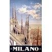 House Additions Vintage Travel Milano Vintage Advertisement