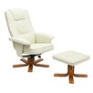 Homestead Living Asa Recliner with Footstool