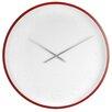 Karlsson 57cm Mr. White Arabic Numeral Wall Clock