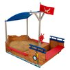 KidKraft Pirate Boat Sand Box