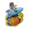 Obique Spaceman Wall Clock