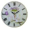 Obique Lavender 34cm Wall Clock