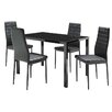 Home & Haus Olmsted Dining Set with 4 Chairs