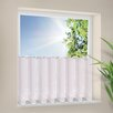 House Additions Flowers Bistro Curtain