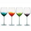 The DRH Collection Anton Studio Design 4 Piece Fizz Wine Glass Set