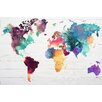 NEXT! BY REINDERS The World in Water Colours Wall Art