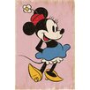 NEXT! BY REINDERS Minnie Mouse Retro Wall Art