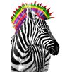 NEXT! BY REINDERS Zebra Punk Photographic Print