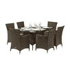 Royal Craft Cannes 6 Seater Dining Set with Cushions