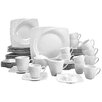 Creatable Celebration 50 Piece Dinnerware Set, Service for 6