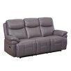 Hyde Line Furniture Trisha Leather Layflat Power Reclining 3 Seater Sofa