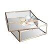 Nkuku Bequai Box - Antique Brass Decorative Box