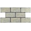 "EliteTile Antiqua 3"" x 6"" Ceramic Subway Tile in Feelings Pergamon"