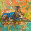 Marmont Hill 'South China Tiger' by Evelia Art Print Wrapped on Canvas