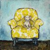 Marmont Hill Dog Allowed In' Art Print Wrapped on Canvas