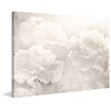 Marmont Hill Peony' Photographic Print Wrapped on Canvas
